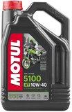 Motul 5100 motorolie 10w40 met gratis oliefilter Semi Sinthetisch 4 liter_