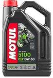 Motul 5100 motorolie 10w50  Semi Synthetisch 4 liter_