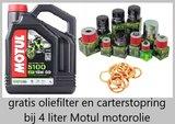 Motul 5100 motorolie 15w50 Semi Synthetisch 4 liter _
