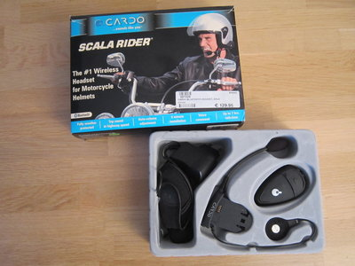 Scala Rider Cardo bluetooth communicatie