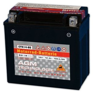 Accu Panther AGM YTX14-BS